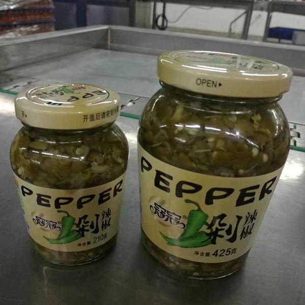 绿色剁辣椒